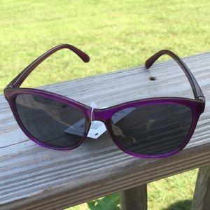 Foster Grant purple sunglasses NWT